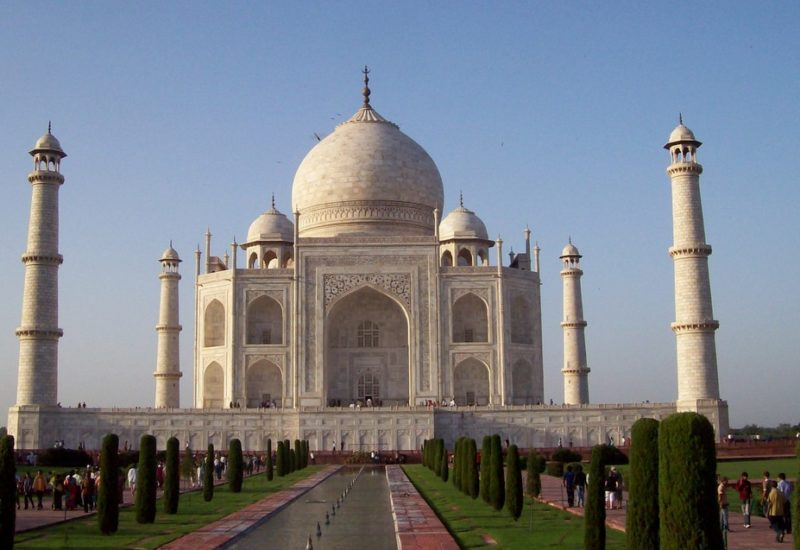 1000 Places to see before you die, entdecke das Taj Mahal.