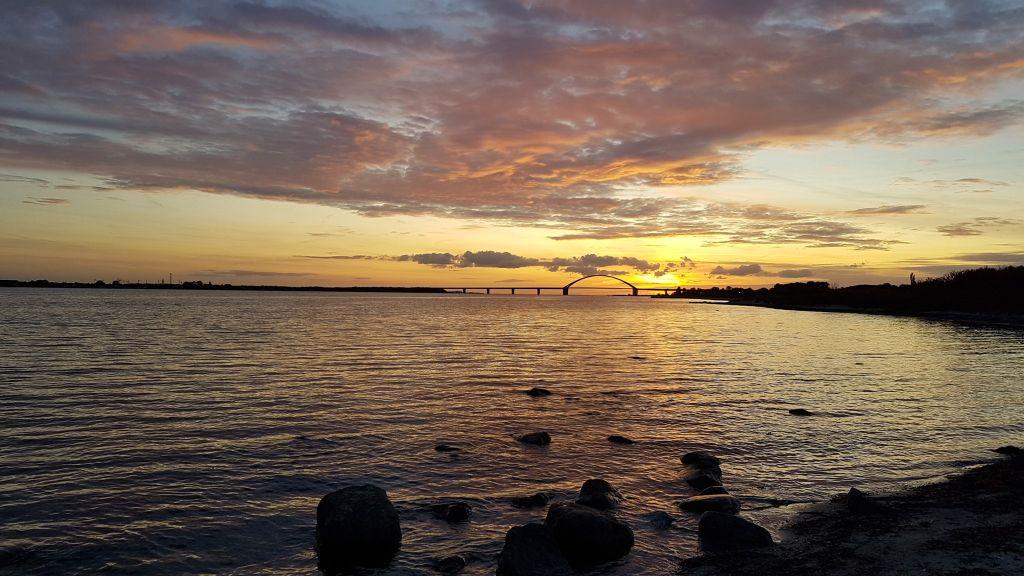 Das bekannte Merkmal der Insel Fehmarn an der Ostsee