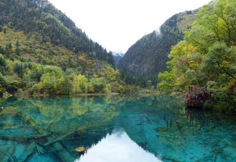 1000 Places: Eine dieser Sehenswürdigkeiten ist der Nationalpark Jiuzhaigou in Sezuan.