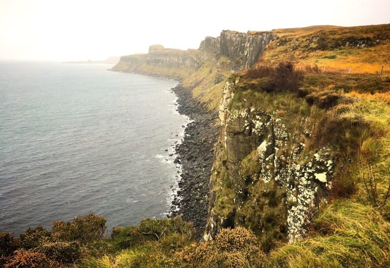 1000 places to see before you die, Schottland Roadtrip, Kilt Rock auf Isle of Sky.