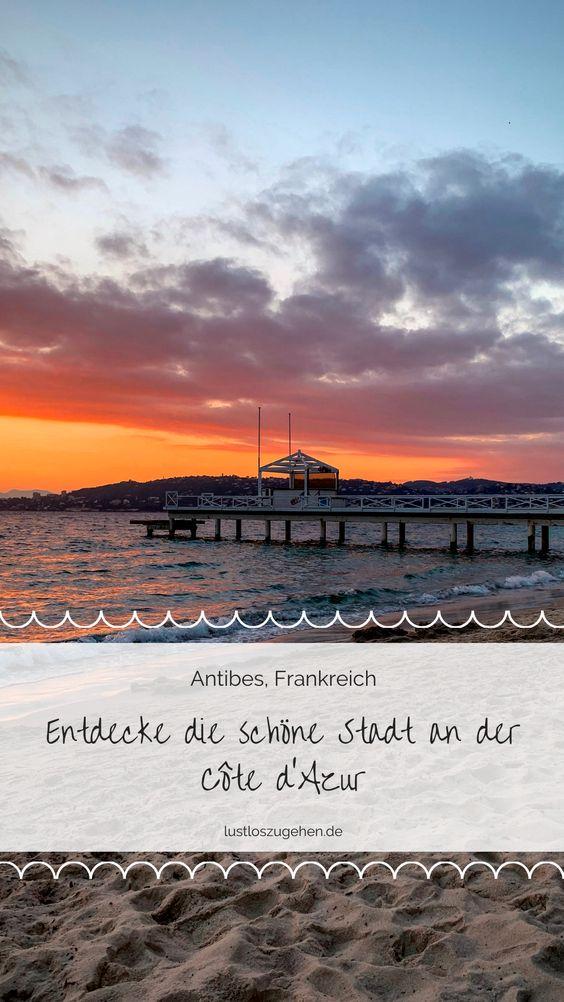 Pinne Antibes, Frankreich bei Pinterest