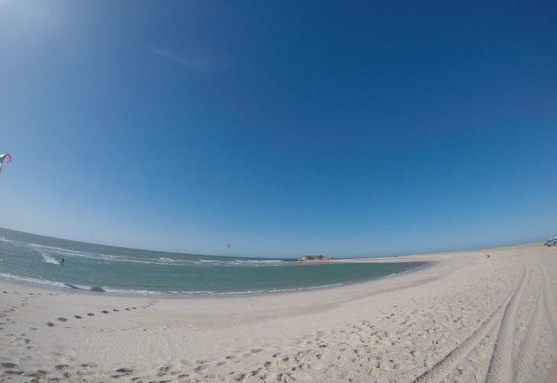 Kitesurfen in Dakhla, hier gibts auch Wellenspots