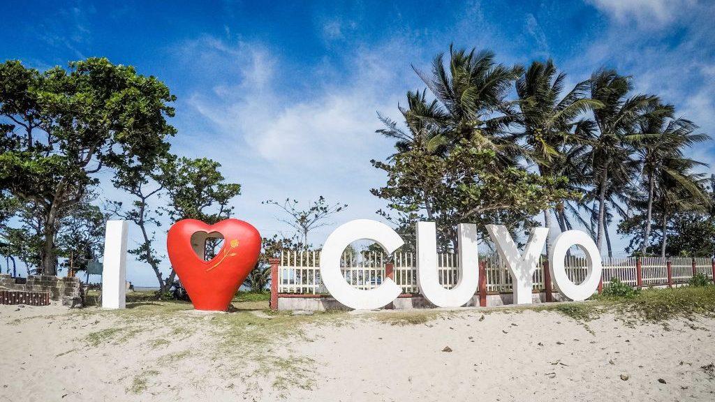 Cuyo Island, die kleine Insel auf den Philippinen ist es wahres Paradies für Kitesurfer