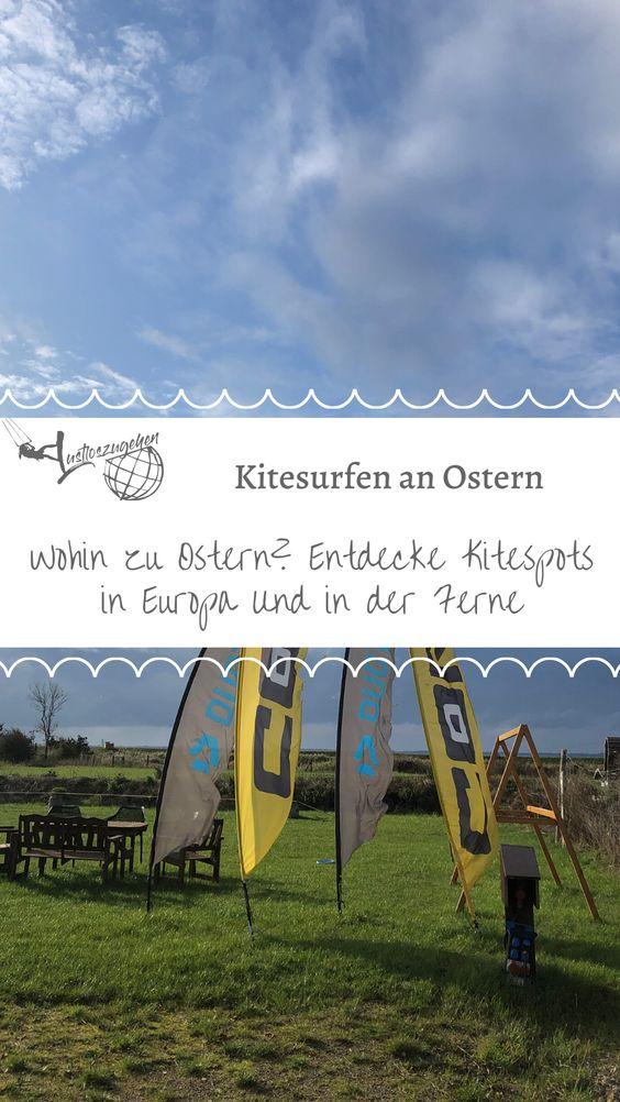 Kitesurfen an Ostern, entdecke Kitespots in Europa und Weltweit.