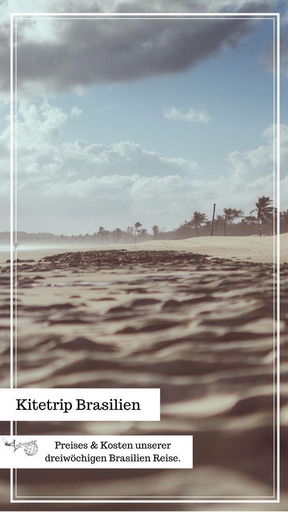 Pinne Kosten einer Kitesreise nach Brasilien bei Pinterest