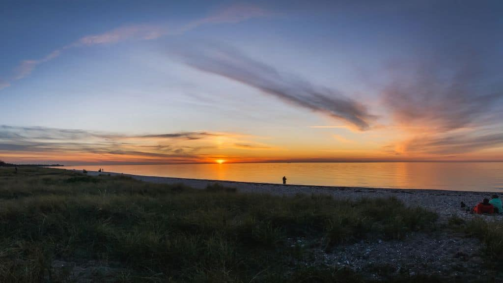 Highlights Fehmarn - Sonnenuntergang in Niobe
