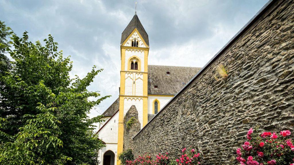 Kloster Arnstein auf dem Lahn Camino