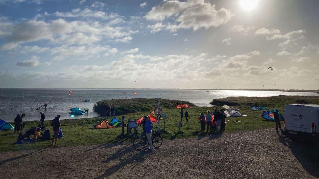 Kitesurfen in Dänemark