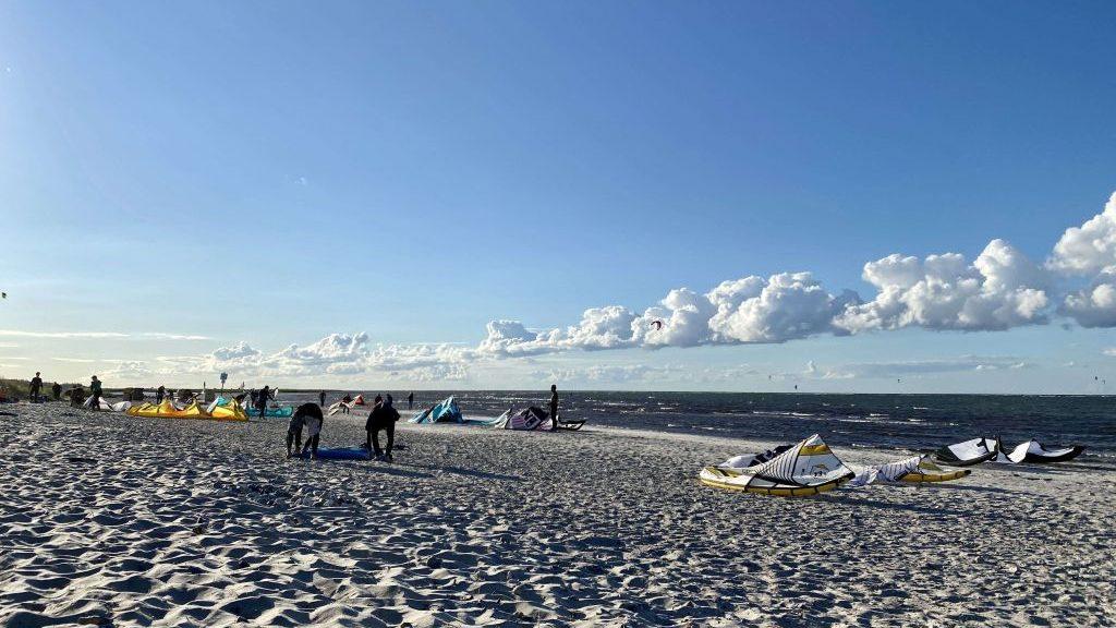 Kitesurfen an der Ostsee, Insel Fehmarn