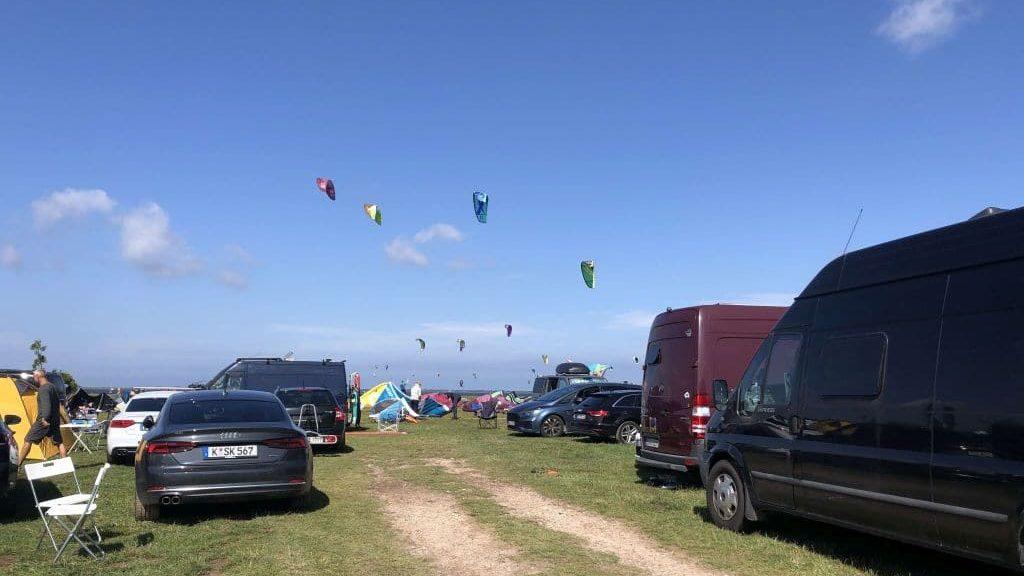 Kitesurfen an der Ostsee, Ummaii