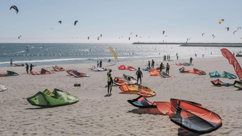 Kitesurfen und Reisen während Corona, Portugal