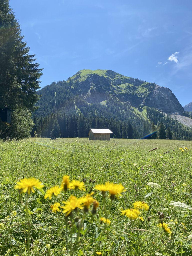 Wanderung zum Vilsalpsee, Tannheimer Tal