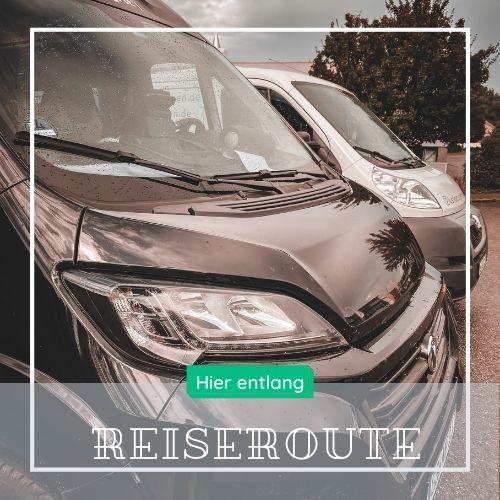 Vanlife - Podcast 8RaederKuecheBad - Reiseroute